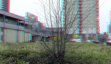 Bouwterrein Grote Beer/Voermanweg Alexandrium Rotterdam 3D