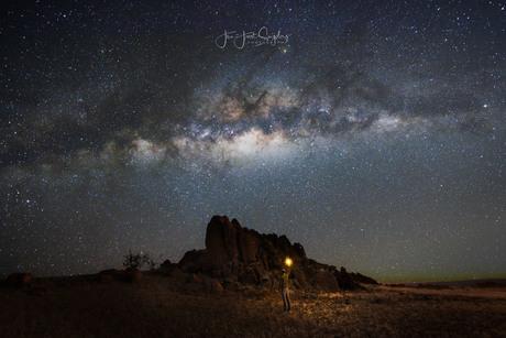 A starry night...