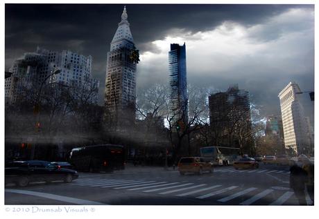 New York darkening