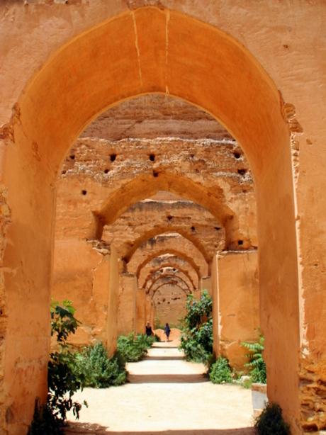 Graanschuren van Moulay Ismaïl, Meknès (Marokko)