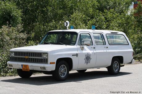 Oldtimer C 10 Politie Wagen.