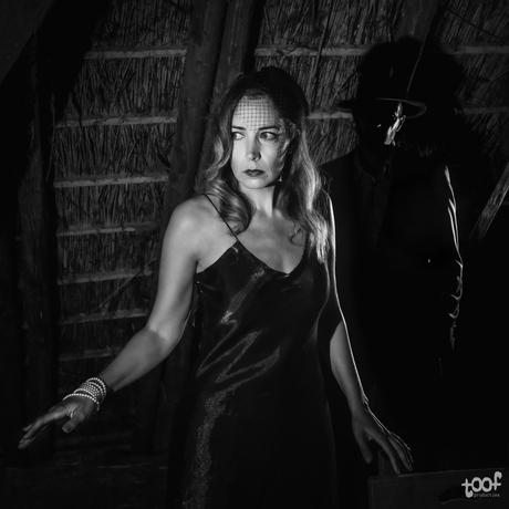 La femme et l'ombre...