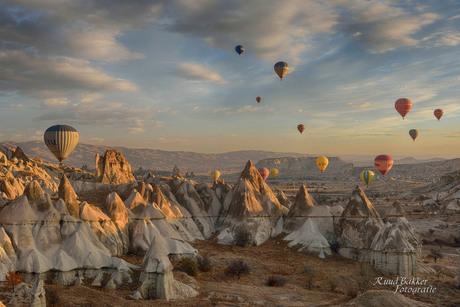 Luchtballonvaart Cappadocië