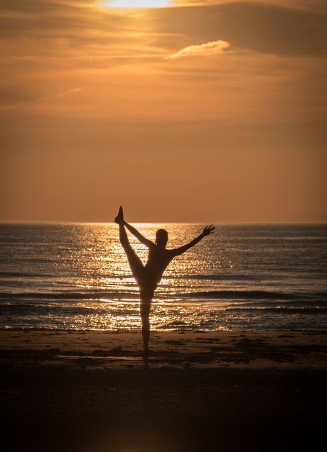 Yoga in het licht