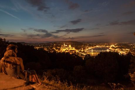 Romance in Budapest