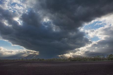 Wolkenexplosie ?