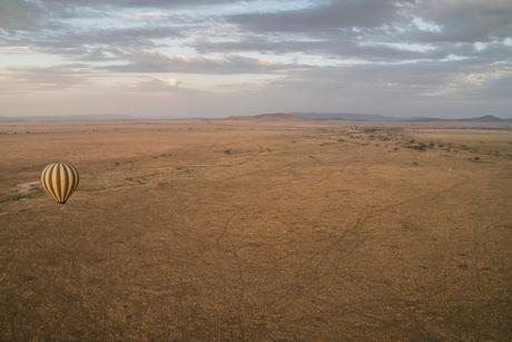 De Serengeti vanuit een luchtballon