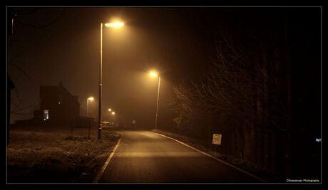 Boerenweg @ night