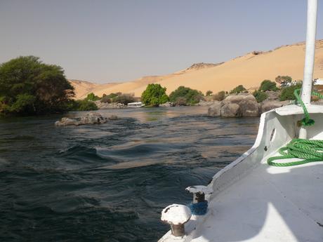 Stroomversnelling op de Nijl