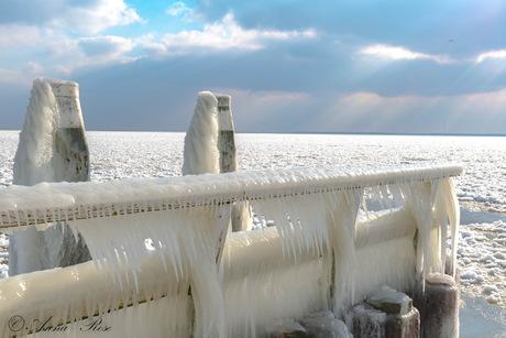 IJsselmeer ijspegels