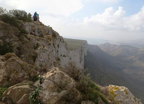 Panorama vanaf penas blancas