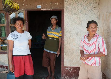 mensen van Lombok en Flores