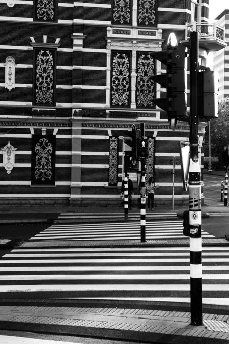 Stripes - - - foto door lk123456789 op 17-06-2015 - deze foto bevat: amsterdam, zwart-wit
