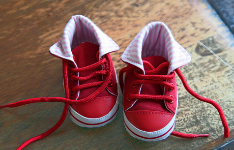 Mijn eerste schoentjes