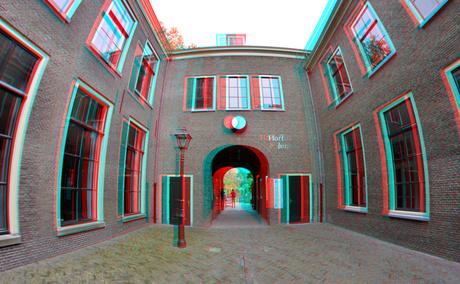 Ingang Hortus Botanicus Leiden 2020 3D