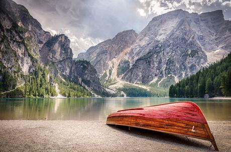 Bootje Pragser Wildsee