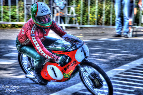 Jan de Vries Classic Racing Oldebroek 2017