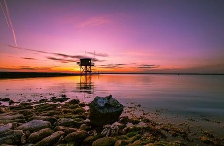 Nederlandse zonsondergang
