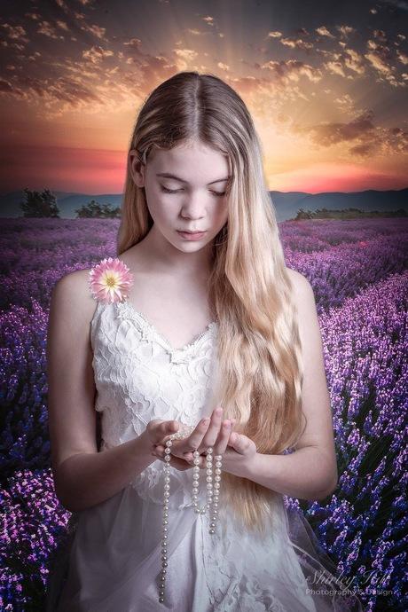 Het lavendel meisje