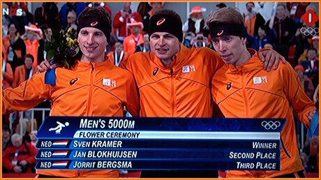 Olympisch Goud, zilver en brons
