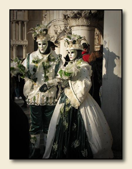 Karnaval in Venetië 10 - Groetjes,   Renata - foto door renatam op 02-03-2010 - deze foto bevat: v