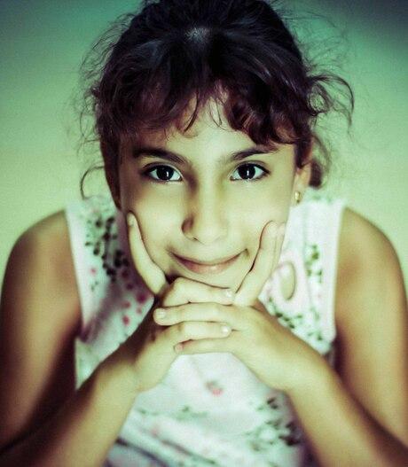 Just a sweet little girl...