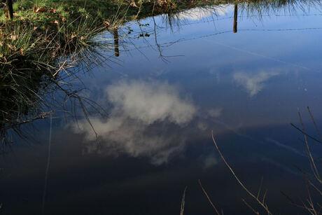 Lucht, wolken, water