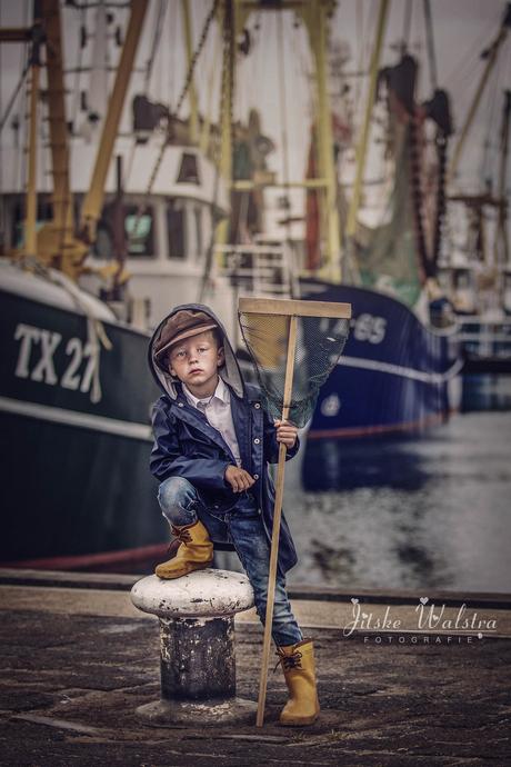 Kleine visserman