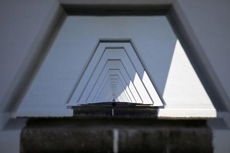 Zeelandbrug doorkijkje - Knap hoe ze al die pijlers netjes achter elkaar hebben gezet. - foto door goosveenendaal op 21-07-2014 - deze foto bevat: brug, zeeland