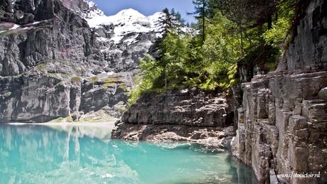 Oeschinensee Zwitserland