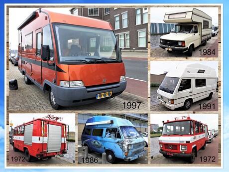 Collage Oldie campers nr4   Delftse Schie en omg