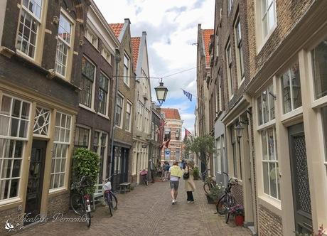 Historische centrum in Dordrecht
