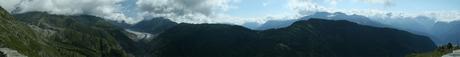 panorama Aletschgletsjer
