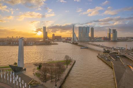 Rotterdam sunrise