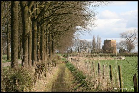 ruine kasteel nijenbeek