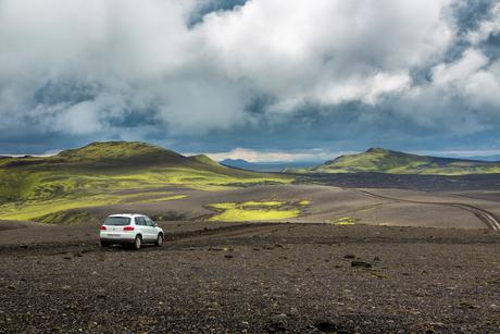 Landscape in Laki