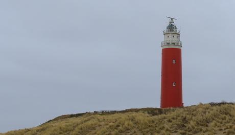 Grijze dag op Texel