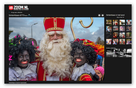 Sinterklaas in de Zoom