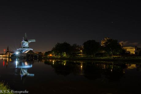 Houtzaagmolen by Night