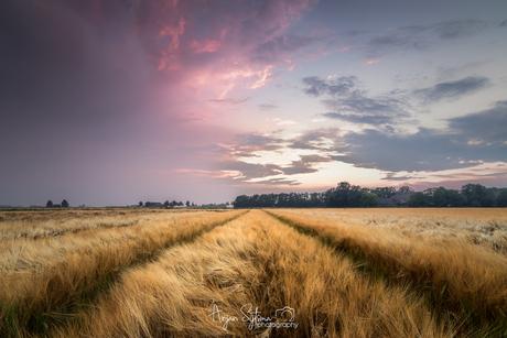 Onweer vs zonsondergang