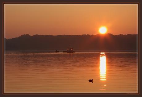 Sunrise, 7:36 AM