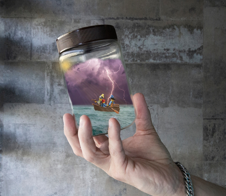 Storm in a jar!