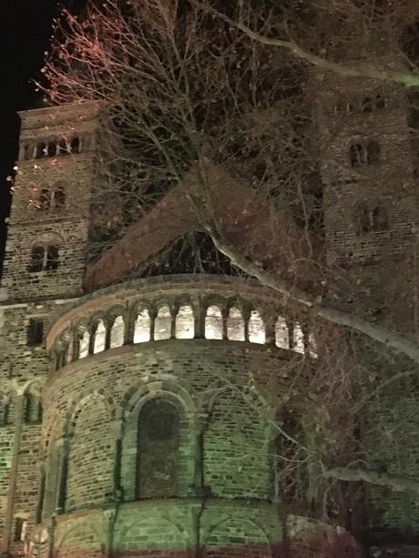 Maastricht by night.