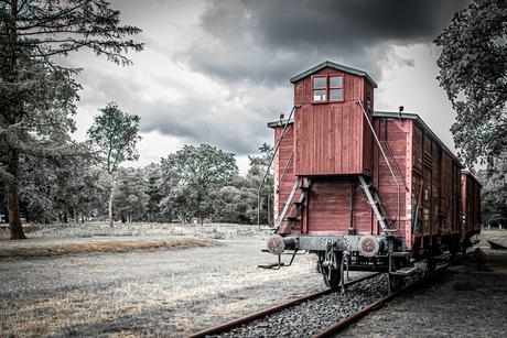Wagon in Kamp Westerbork