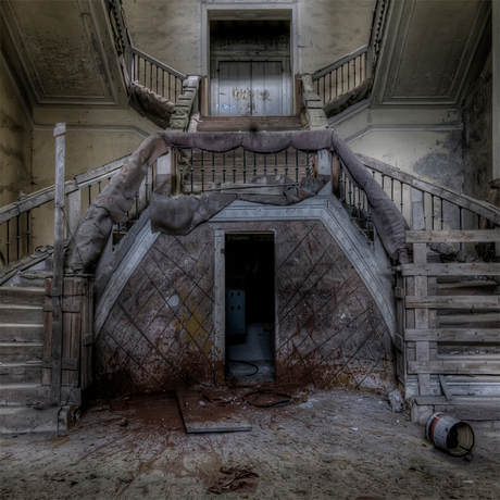 beauty of decay-stairs?