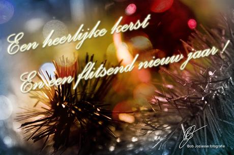 Fijne kerst en een flitsend nieuw jaar!