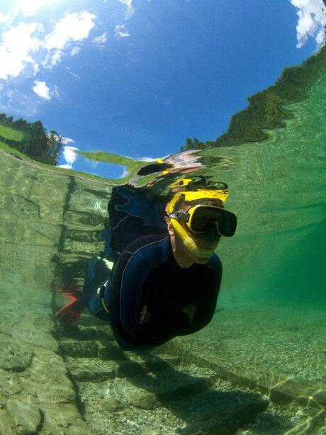 Snorkelen in de Gosausee