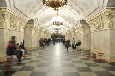 Moskou metro station