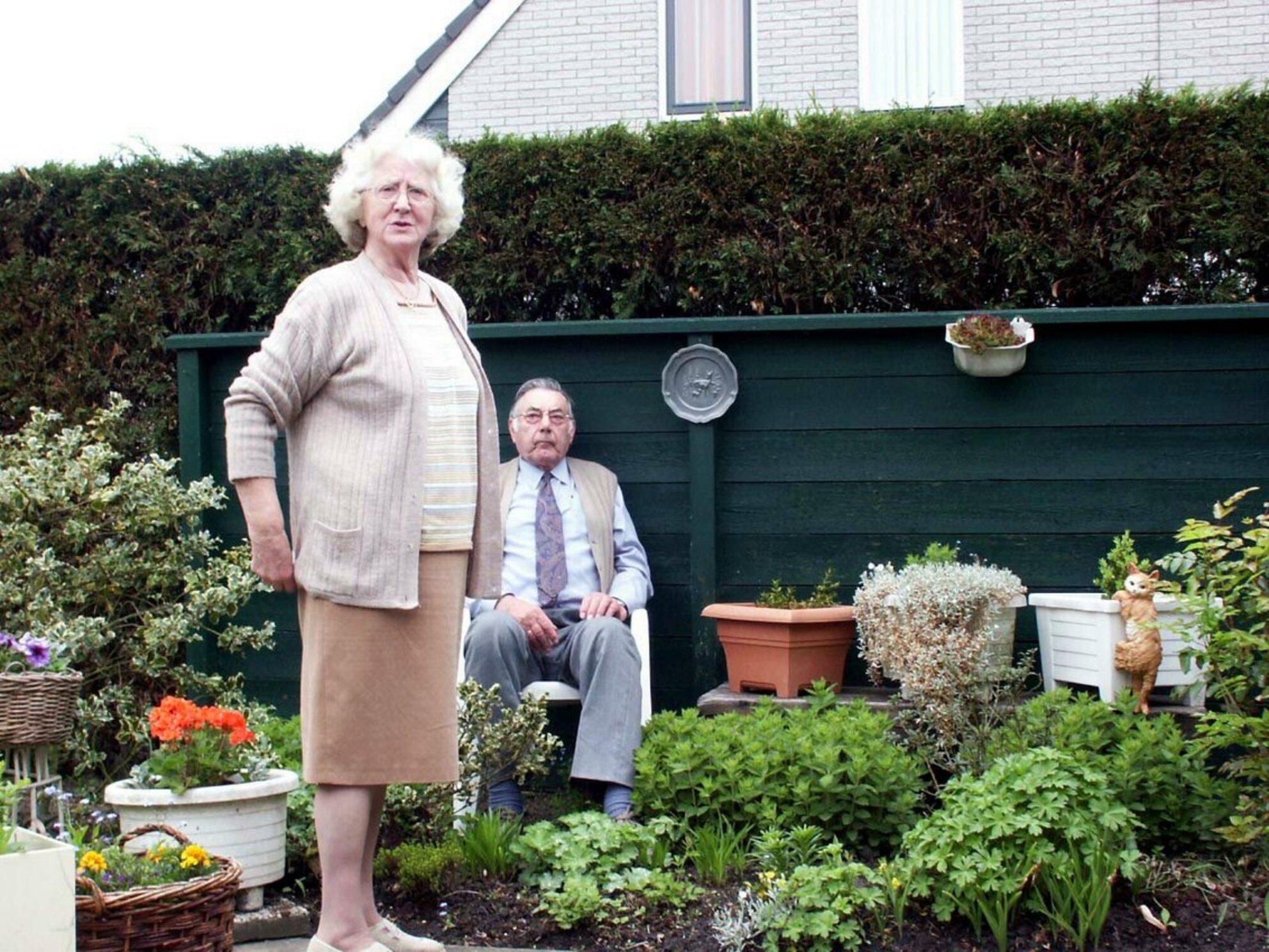 Schoonmoeder - mijn schoonmoeder, een schat van een mens! - foto door Henk van de Poel op 22-02-2007 - deze foto bevat: emotie, schoonmoeder - Deze foto mag gebruikt worden in een Zoom.nl publicatie