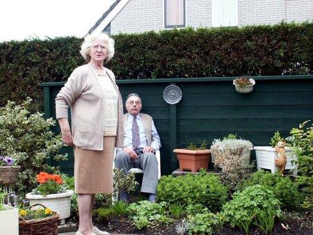 Schoonmoeder - mijn schoonmoeder, een schat van een mens! - foto door Henk van de Poel op 22-02-2007 - deze foto bevat: emotie, schoonmoeder